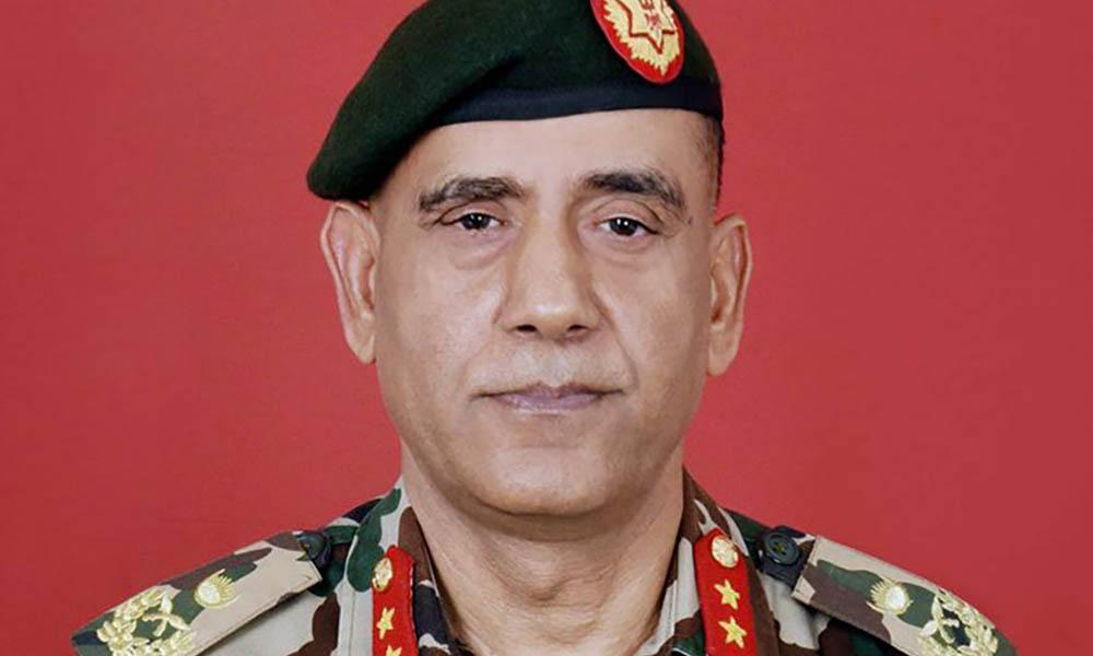 बलाध्यक्ष रथी प्रभुराम शर्मा साउन २४ देखि कामु प्रधान सेनापति