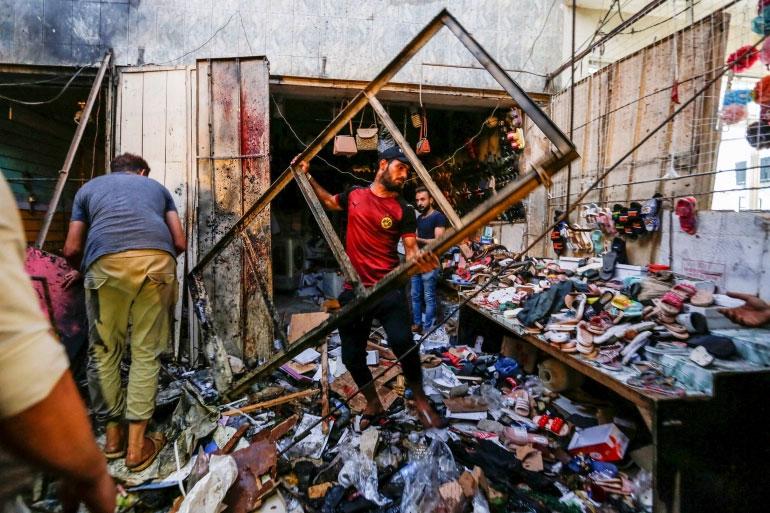 इराकमा भीषण बम विस्फोट, कम्तीमा २८ जनाको मृत्यु