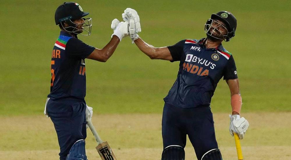 श्रीलंकाविरुद्धको एकदिवशीय शृंखला भारतले जित्यो