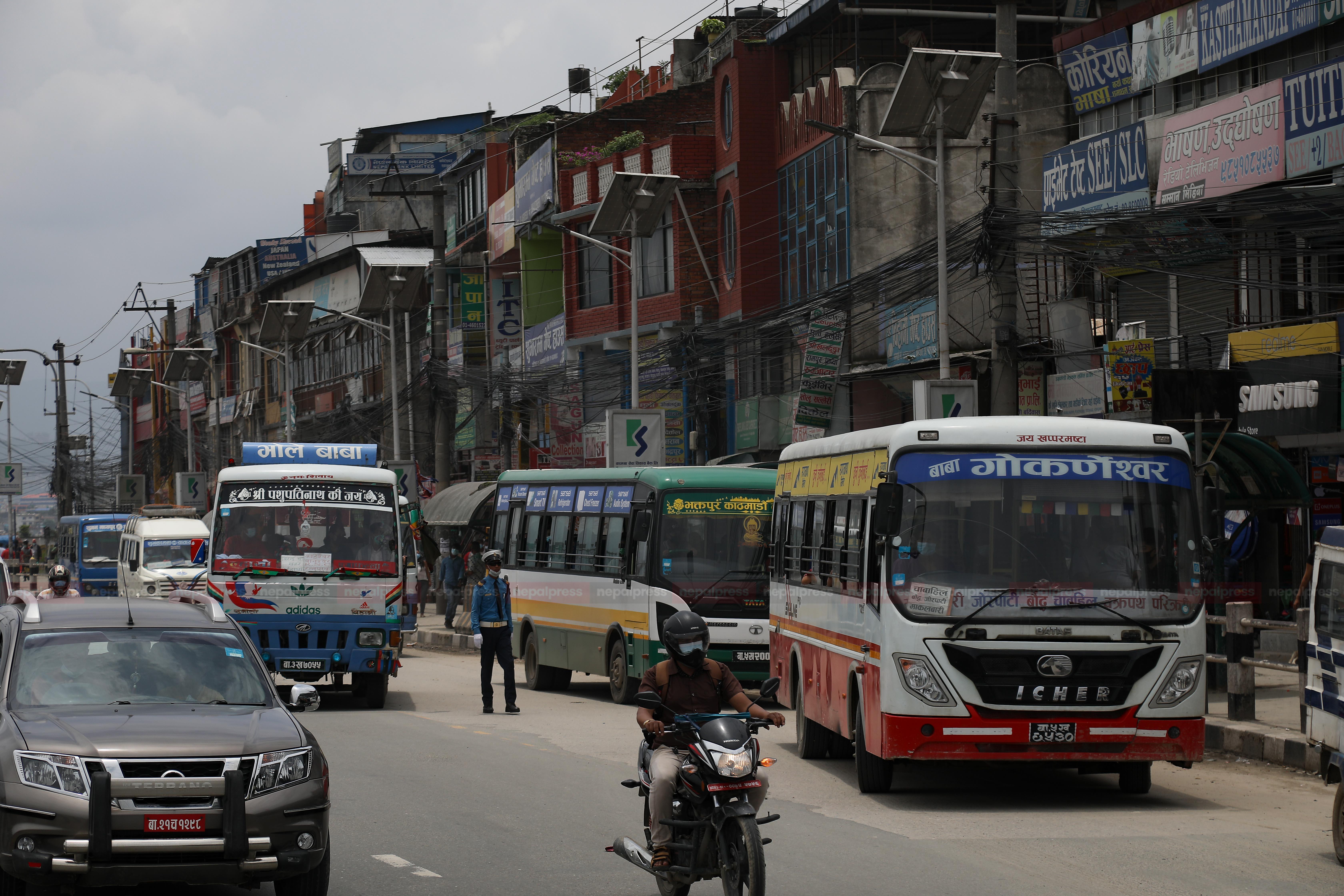 बढी भाडा लिने ७७ सार्वजनिक यातायात कारवाहीमा