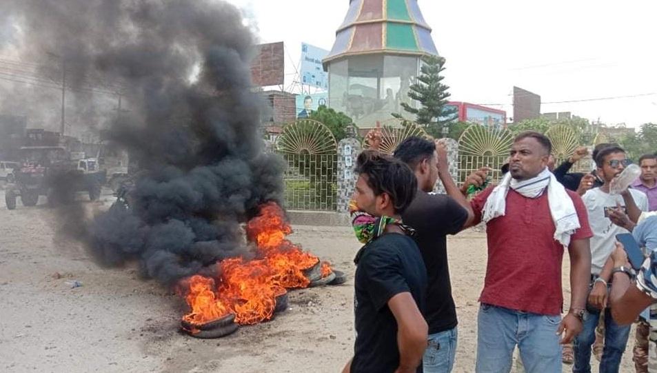 अदालतको आदेशविरुद्ध जनकपुरमा पनि प्रदर्शन, एमालेनिकट युवा विद्यार्थी सडकमा