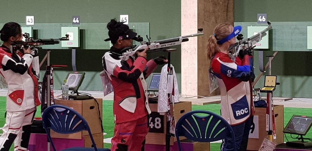 टोकियो ओलम्पिकमा सुटिङकी कल्पनाको राष्ट्रिय कीर्तिमान