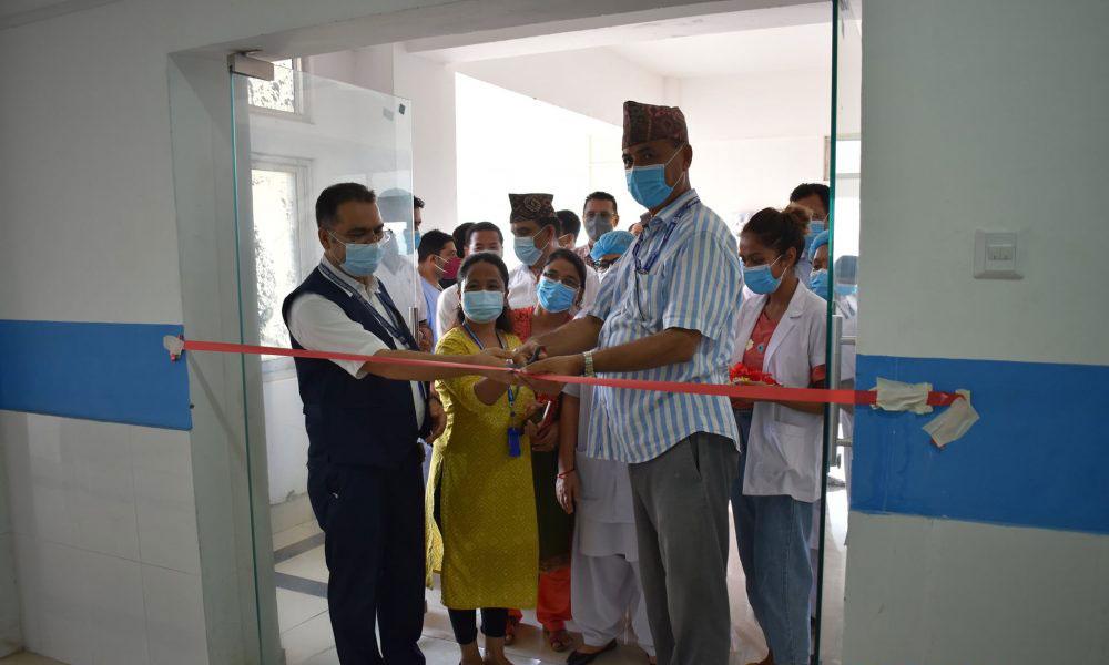 लुम्बिनी प्रदेश अस्पतालको आफ्नै स्रोतबाट ४ करोडका संरचना थपियो