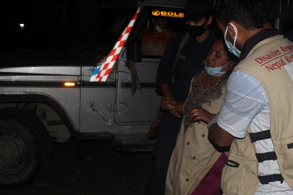 म्याग्दीको सिमलचौरमा जिप दुर्घटना: २ को मृत्यु, ६ जना घाइते