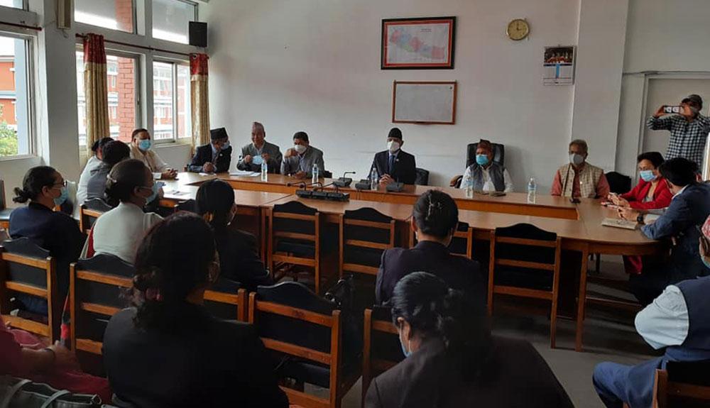 माओवादी संसदीय दलको बैठक जारी (भिडियो)