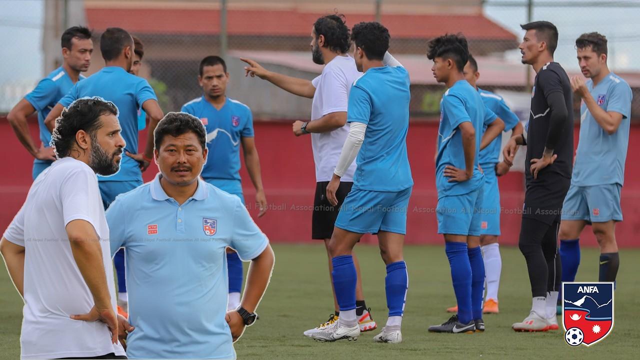 राष्ट्रिय टोलीको बन्द प्रशिक्षणबाट १४ खेलाडी बाहिर