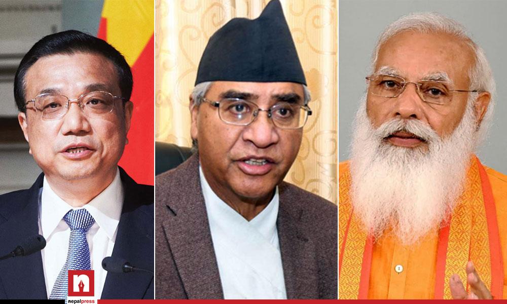 देउवाको नयाँ सरकार : भारत र चीनको 'फेयर प्ले'