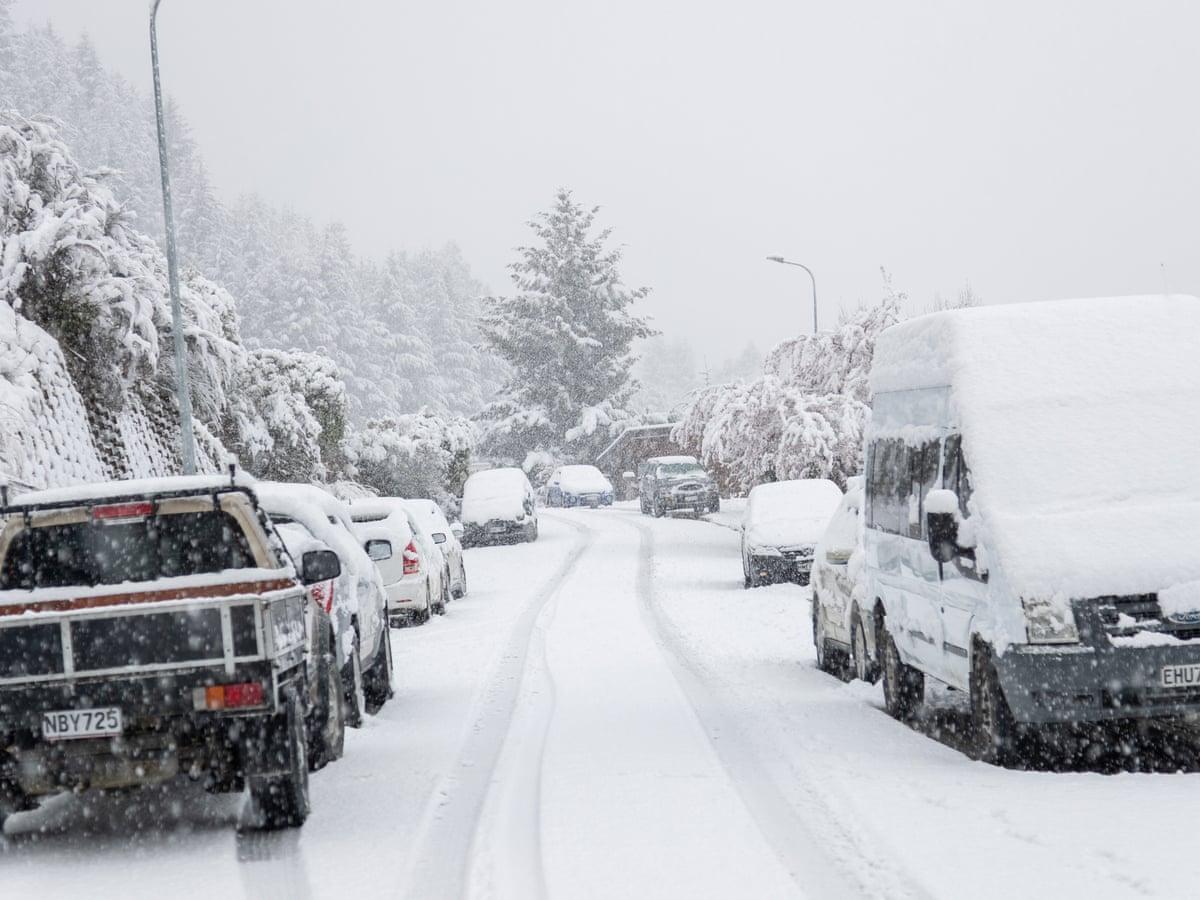 ५५ वर्षपछि न्यूजिल्यान्डमा भारी हिमपात, राजधानी वेलिङ्टनमा आपतकाल लागु