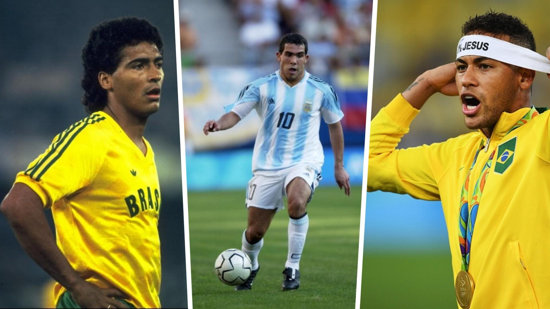 ओलम्पिक फुटबलमा सर्वाधिक गोलकर्ता को हुन् ? सूचीमा टेभेजदेखि नेइमारसम्म