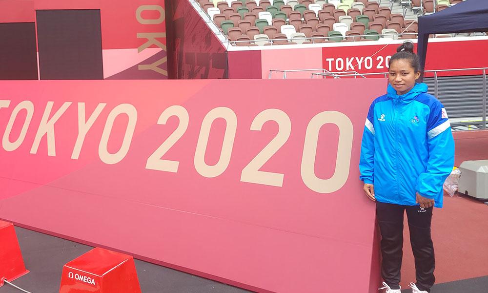 ओलम्पिक एथलेटिक्सको सुरुआती चरणबाटै बाहिरिइन् सरस्वती