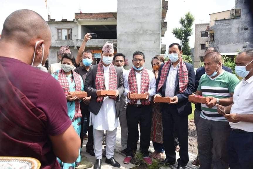 काठमाडौं महानगरको नीति, एक वडा, एक पार्कः प्रमुख शाक्य