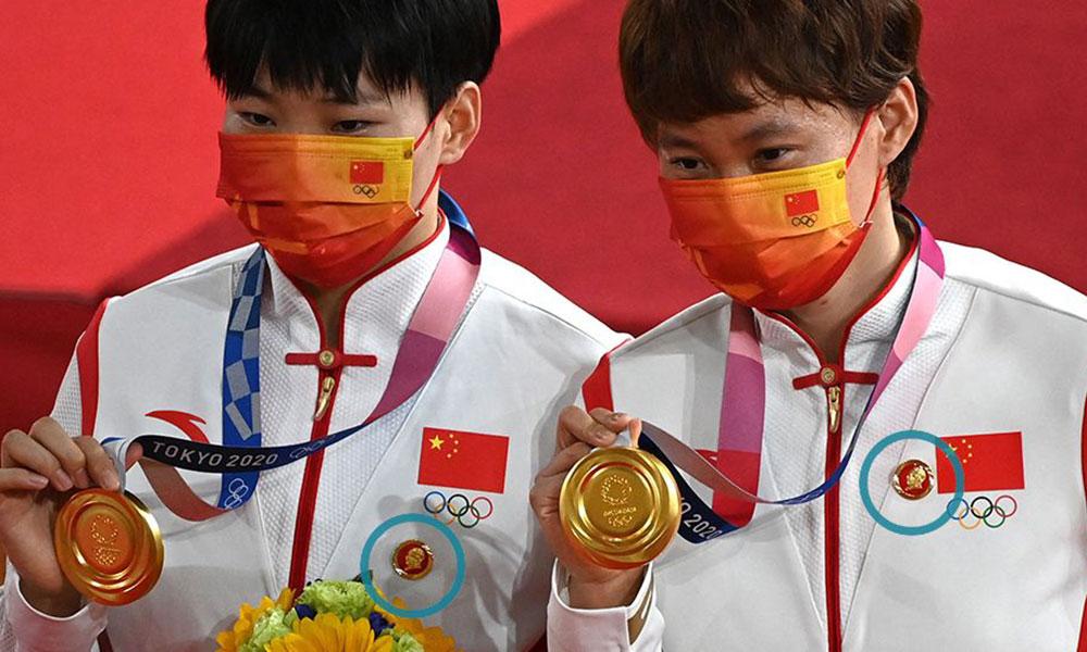 माओको ब्याच लगाएको पाइएपछि चिनियाँ पदकधारीमाथि आईओसीको अनुसन्धान