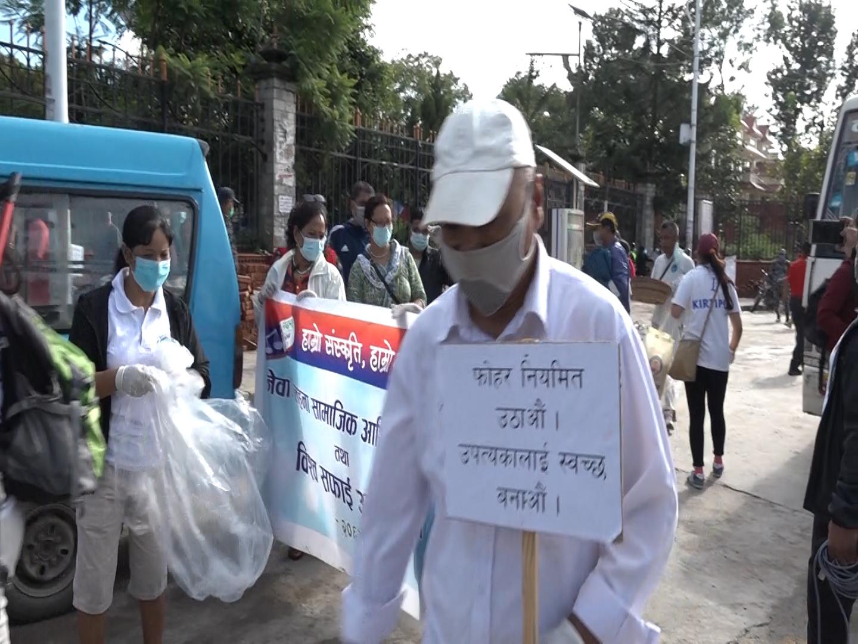काठमाडौंको फोहोर आफैं सिसडोल पुर्याउने नागरिक अभियान शुरु (भिडियो)