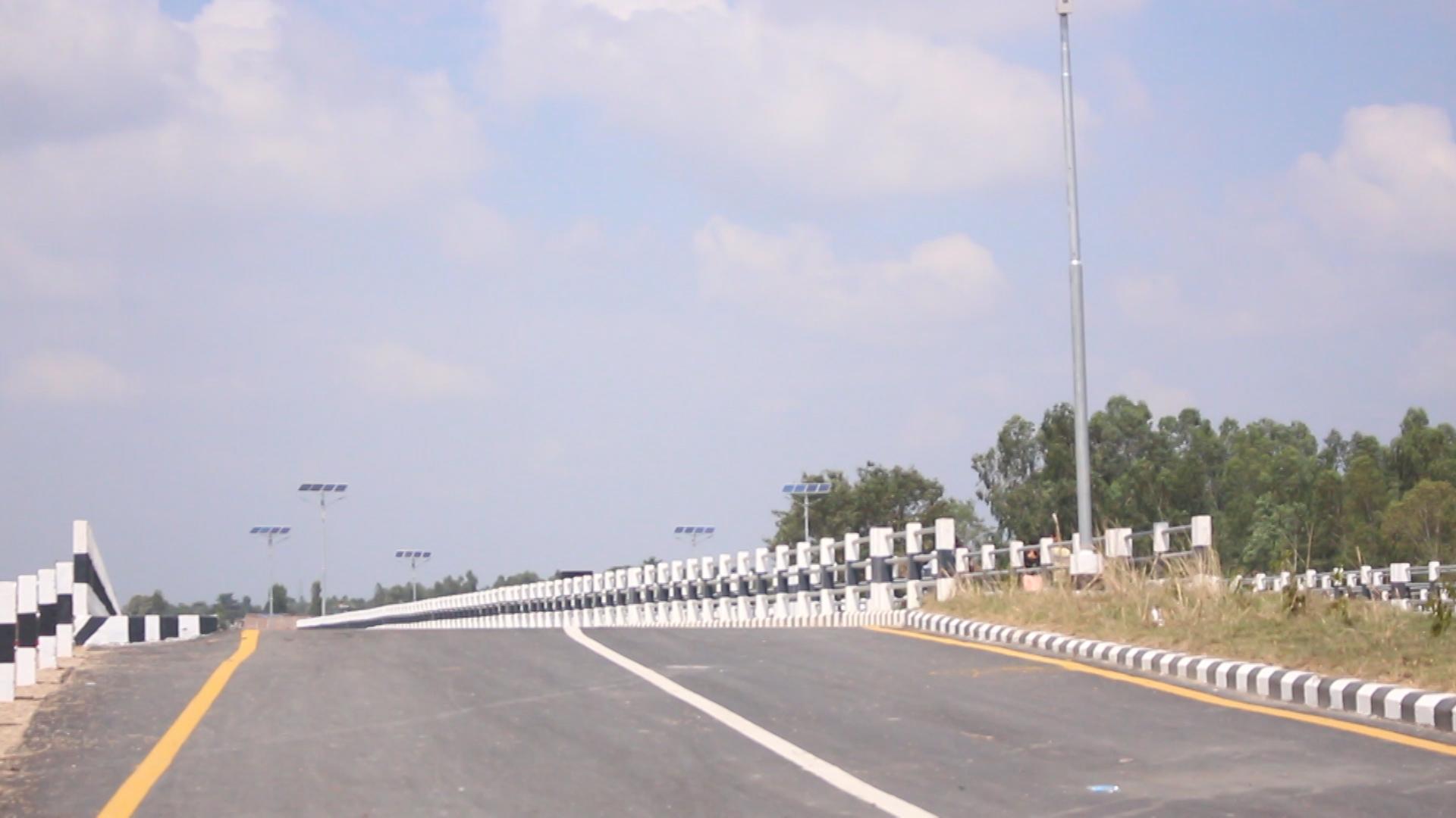 निर्धारित मितिभन्दा सात महिनाअघि नै तीन पुल निर्माण सम्पन्न
