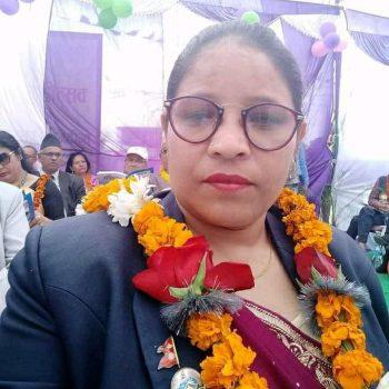 नेकपा एकीकृत समाजवादी सुदूरपश्चिम प्रदेशको प्रमुख सचेतकमा दुर्गा विक चयन