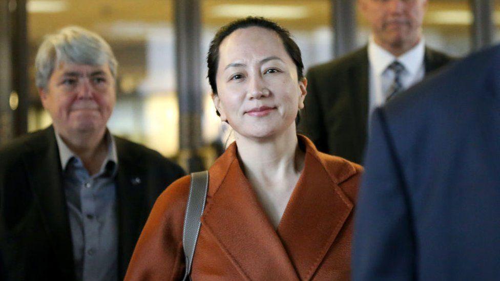 हुवावेकी उच्च अधिकारी क्यानडाबाट रिहा भएलगत्तै चीन फिर्ता, वान्जूलाइ छुटाउन चीन र अमेरिकाबीच सम्झौता