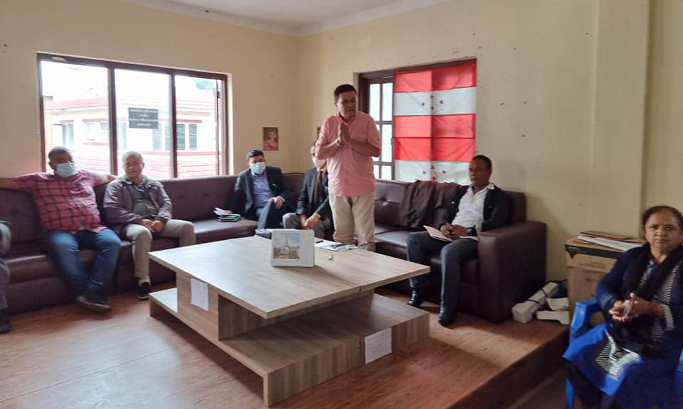 काठमाडौंका १ सय ३८ वडामा असोज ५ गते कांग्रेस अधिवेशन