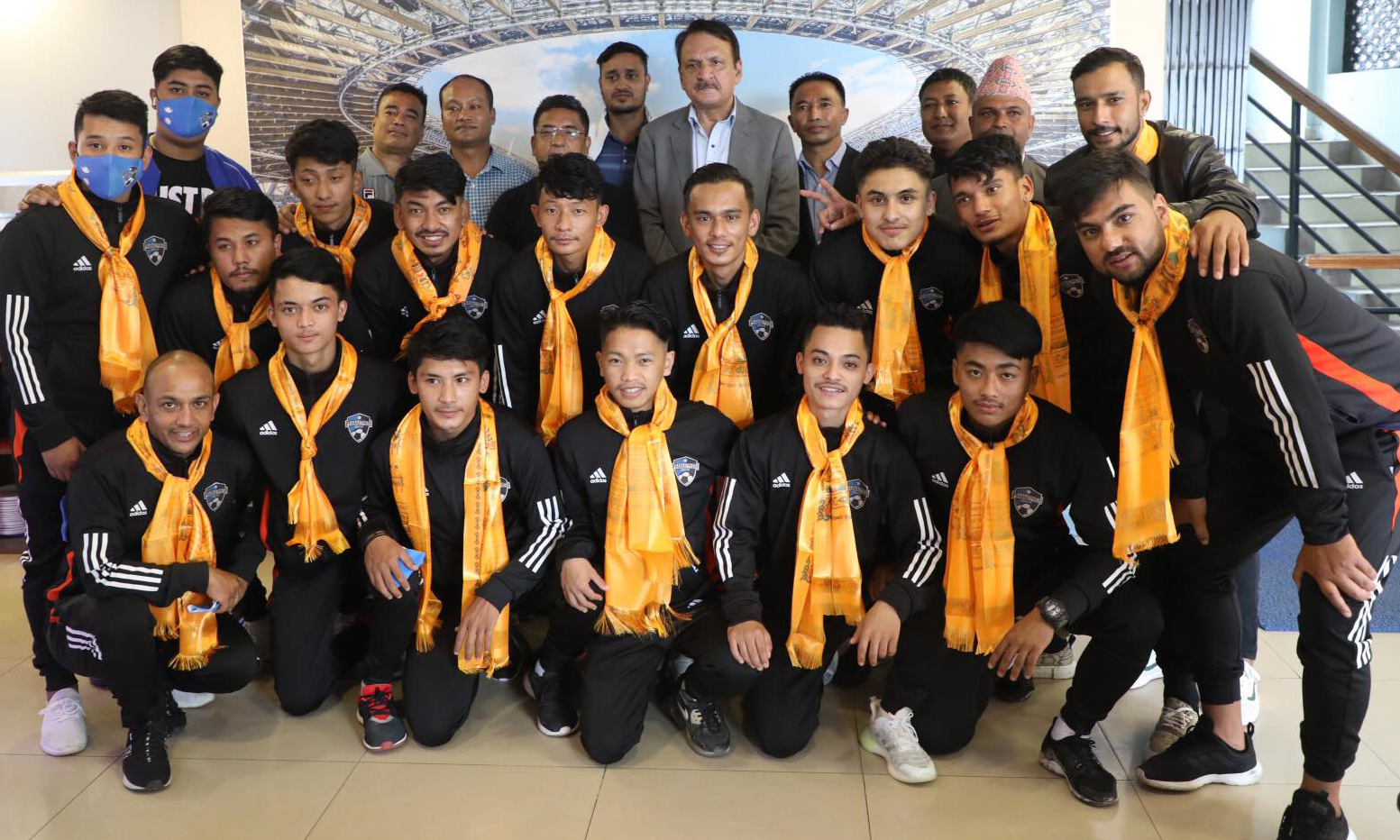 टोखालाई नेपाल लोकतान्त्रिक खेलकुद संघको बिदाई
