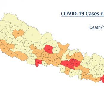 कोरोनाबाट नेपालमा ज्यान गुमाउनेको संख्या ११ हजार नाघ्यो, बिहीवार १५ सय संक्रमित थपिए