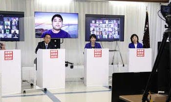 जापानमा लकडाउन कानूनबारे वहस शुरु, प्रधानमन्त्रीका २ दाबेदार कानून बनाउने पक्षमा