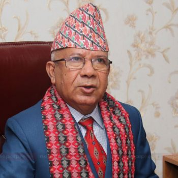माधव नेपाल भन्छन् : हाम्रो पार्टी सरकारमा सहभागी हुनेछ, यो देश हाँक्नेछ (भिडिओ)