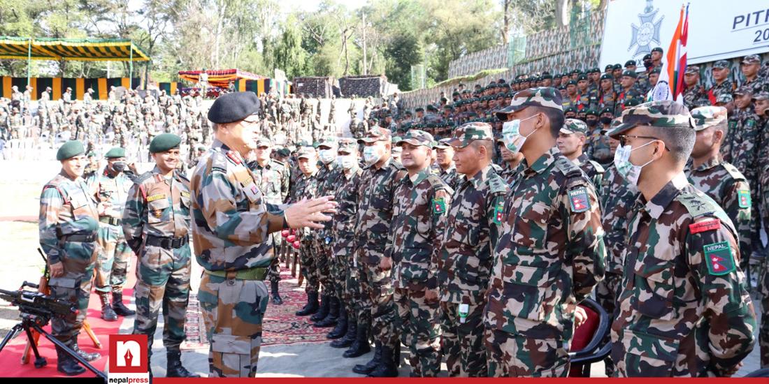 नेपाल र भारतको संयुक्त सैन्य अभ्यास आजदेखि उत्तराखण्डमा सुरु