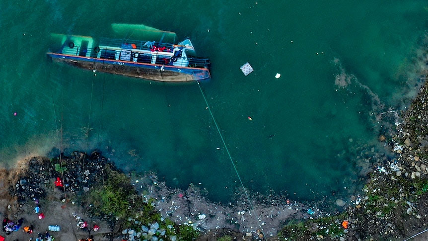चीनमा पानी जहाज दुर्घटना हुँदा बाह्रको मृत्यु, कैयौँ बेपत्ता