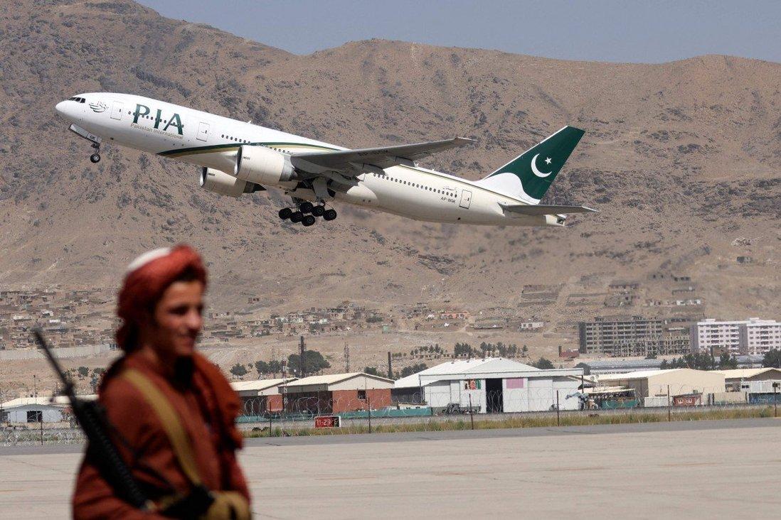 तालिबानको कब्जापछि पहिलो विदेशी व्यावसायिक उडान काबुलमा