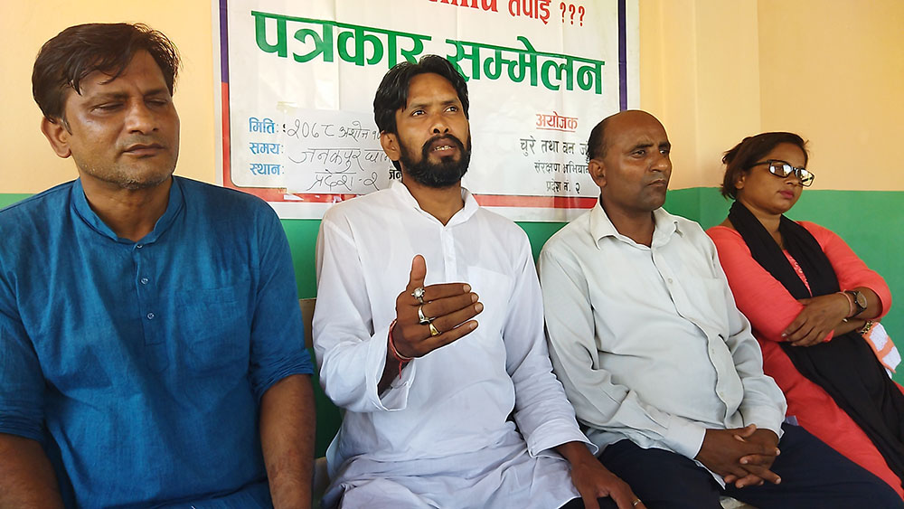नदीजन्य पदार्थ उत्खनन्को ठेक्का रद्द गर्न निजगढ नगरपालिकालाई चेतावनी