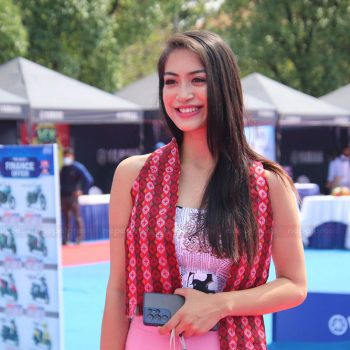 मिस नेपाल नम्रताले शुभारम्भ गरिन् यामहा एक्सचेन्ज मेला (तस्बिरहरु)