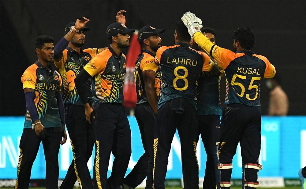 श्रीलंका समूह बिजेता बन्दै सुपर १२ मा