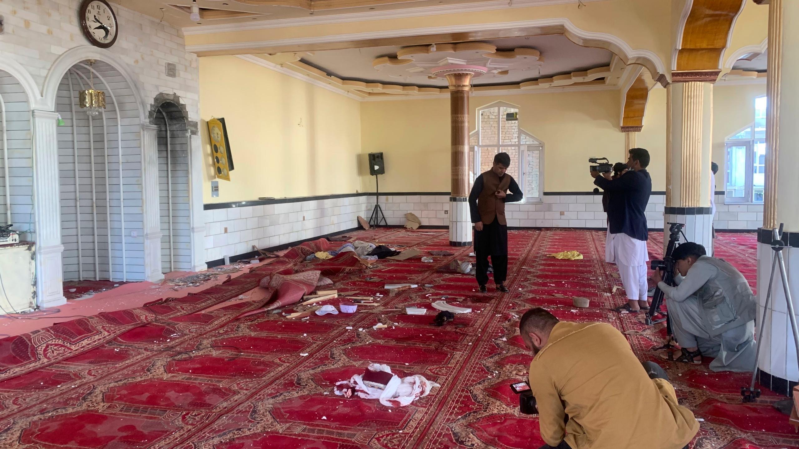 अफगानिस्तानको मस्जिद विस्फोटमा इस्लामिक स्टेटको हात