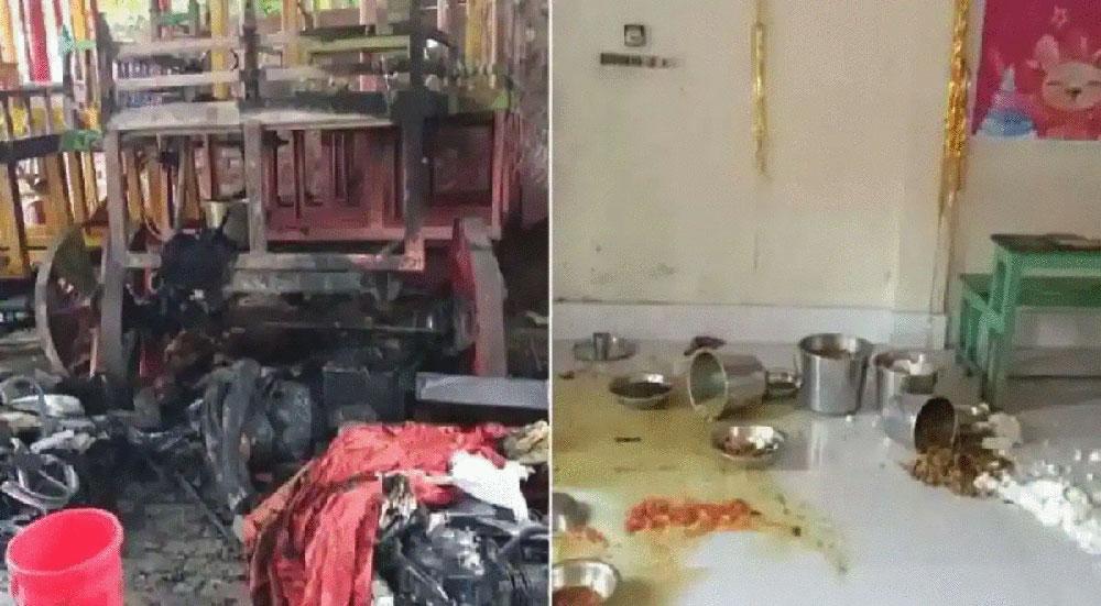 बंगलादेशमा दुर्गा पूजामा हिन्दुमाथि हमलाः धार्मिक हिंसा भड्किन नदिन सुरक्षाकर्मी हाइ अलर्टमा