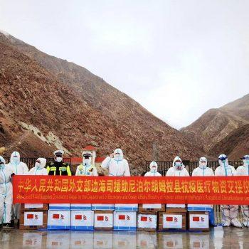 नेपालले सीमा विवाद झिकेकै ठाउँमै चीनद्वारा स्वास्थ्य सहायता प्रदान
