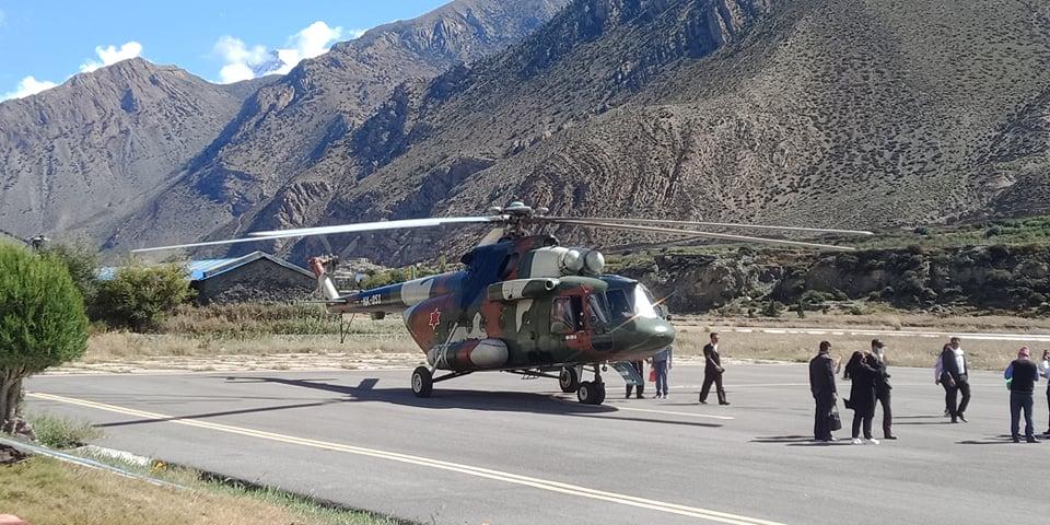 भारतीय सेनाको जम्बो टोली जोमसोममा, मुक्तिनाथ दर्शनपछि आज काठमाडौं फर्कने