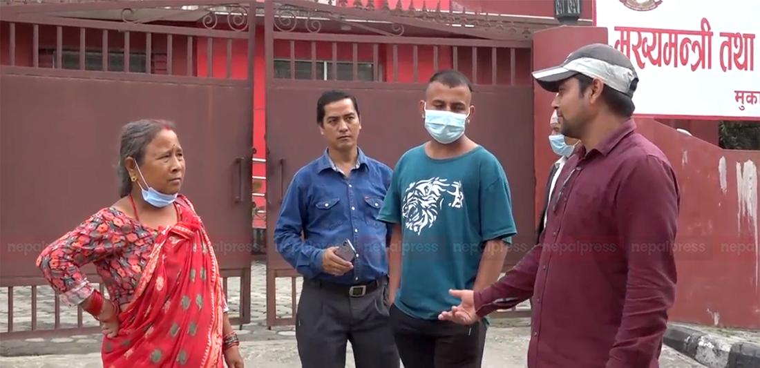 लुम्बिनीमा राजधानी व्यवस्थापनका लागि बस्ती हटाउन थालेपछि विरोधमा स्थानीय (भिडिओ)