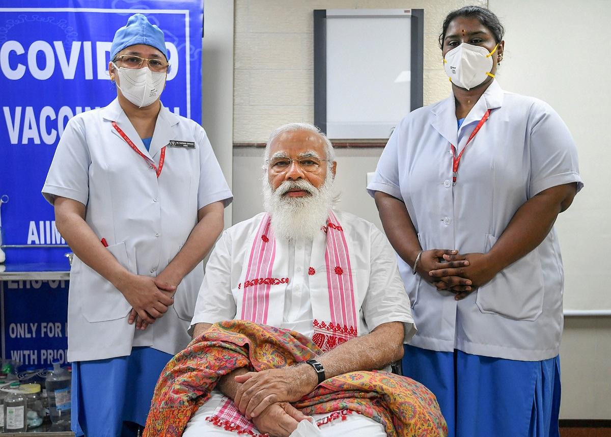 भारतमा एक अर्ब जनसंख्यालाई खोप, मोदी भन्छन् : भारतीय विज्ञानको विजय
