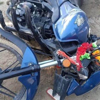मोटरसाइकल दुर्घटना हुँदा धनुषामा २ जनाको मृत्यु