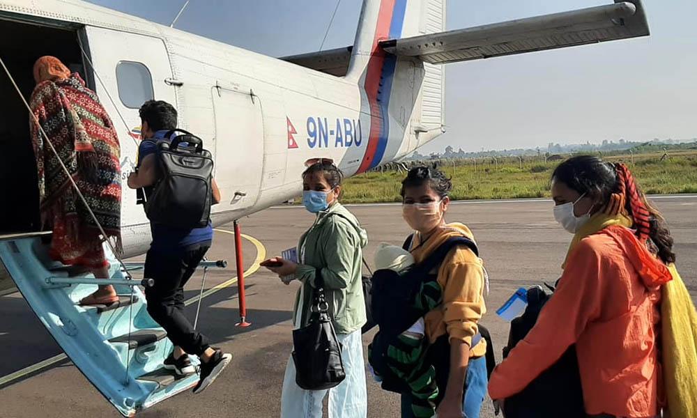 मन्त्री प्रेम आलेको निर्देशनपछि सुदूरपश्चिमका पहाडी जिल्लामा नेपाल एयरलाइन्सको उडान सुरू