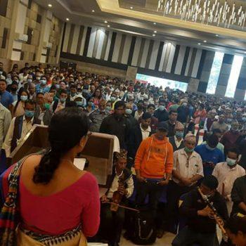 दाङमा एकीकृत समाजवादीको जमघट (तस्बिरहरु)