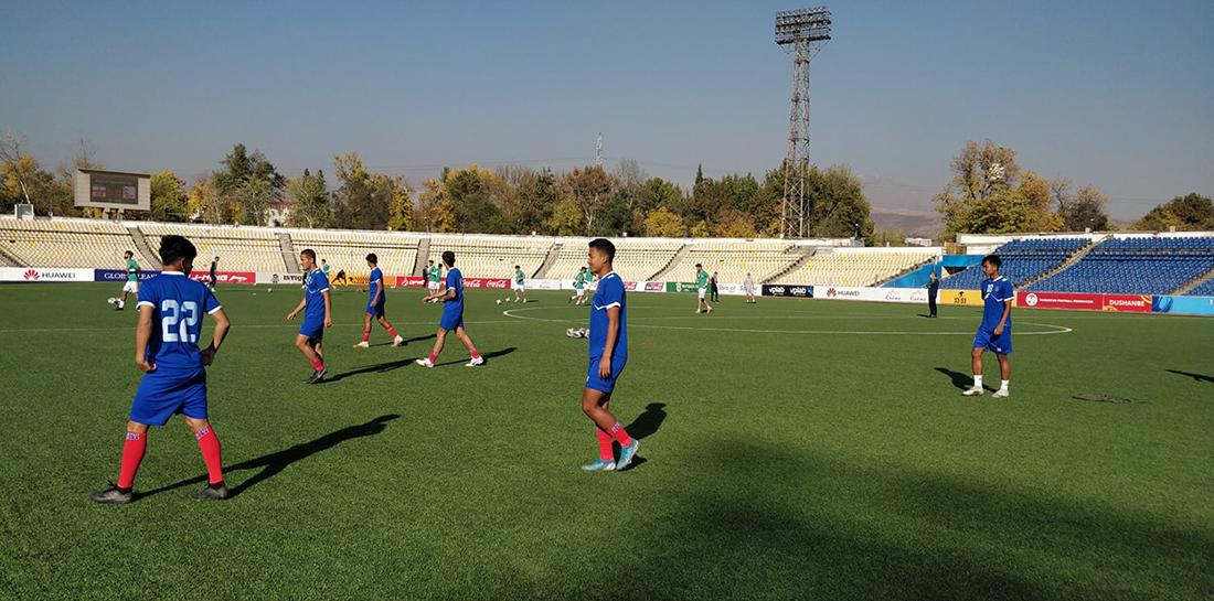 यू- २३ फुटबल: इरानसँग नेपाल ४-० ले पराजित
