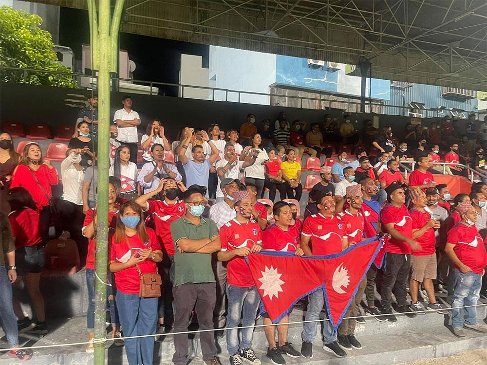 माल्दिभ्सको राष्ट्रपति कार्यालयले फाइनल खेल हेर्न नेपाली कामदारलाई दियो छुट्टी