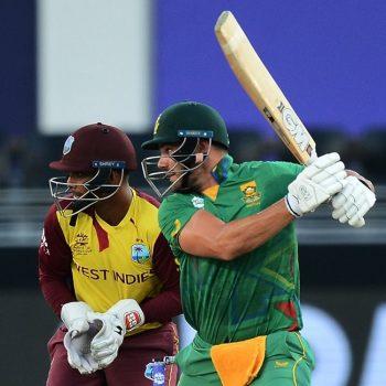 टी-२० विश्व कपमा दक्षिण अफ्रिकाको पहिलो जित