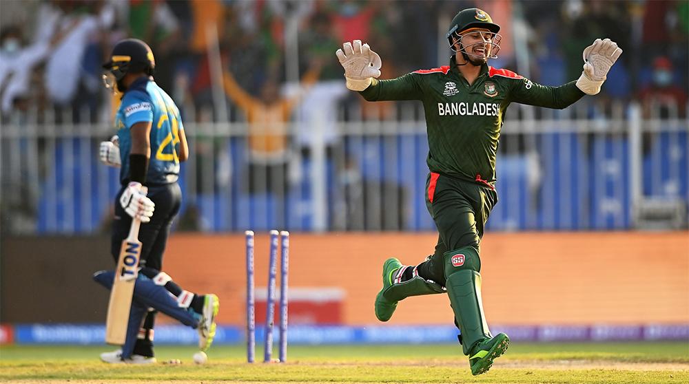 टी-२० विश्वकप: श्रीलंकाले बंगलादेशलाई हरायाे