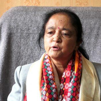 बाढीपहिरोबाट प्रभावित महिला, ज्येष्ठ नागरिकलाई छुट्टै राहत दिन्छाैं : मन्त्री रेग्मी