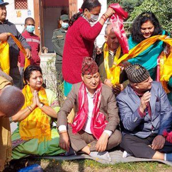 एक वडा एक पार्क अभियानमा काठमाडौं महानगर, एकै दिन दुई पार्कको शिलान्यास